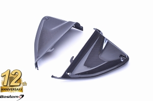 Ducati Hypermotard 2013 - 2016 100% Carbon Fiber Air Intake Covers