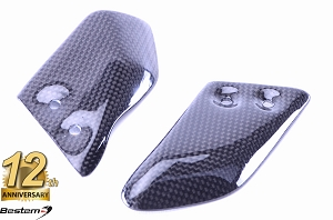 Ducati Monster S2R S4R S4RS Front Rearset Foot Mount Heel Guard 100% Carbon Fiber
