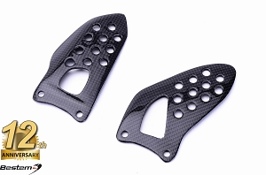 Suzuki GSXR 600 750 1000 2003 - 2005 100% Carbon Fiber Heel Guards