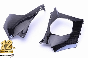 Suzuki GSXR1000 2007 - 2008 100% Carbon Fiber Side Panels