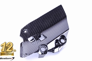 Yamaha FZ-09/MT-09 100% Carbon Fiber Air Intake Inner Panel, Twill,