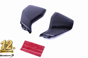 Yamaha FZ-09/MT-09 100% Carbon Fiber Tank Side Covers, Twill,