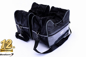 Triumph Sprint ST 1050 Saddlebag Sideliners Side Case Trunk Liners Bags,Balck