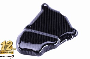 BMW S1000RR HP4  100% Carbon Fiber Racing Clutch Cover, Twill Weave