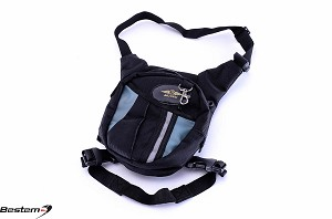 Bestem Motorcycle Rider Universal Leg Bag Pouch Pack 3