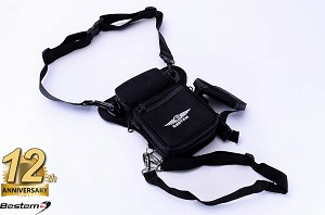 Bestem Motorcycle Rider Universal Leg Bag Pouch Pack 5