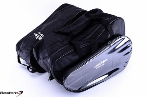 BMW K1200LT Saddlebag Sideliners Side Case Trunk Liners Bags,CD Version, Black