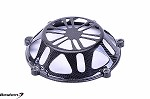 Ducati Press Mold Carbon Fiber Dry Clutch Cover, Open Style 2