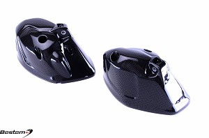 Triumph Speed Triple 2011-2012 Carbon Fiber Headlight Bowls,  L+R