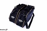 Harley Davidson Glide,Road King Hard Saddlebag Sideliners Side Case Trunk Liners Bags, Black