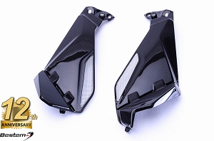 BMW R1200GS 2013-2016 100% Carbon Fiber Knee Fairing Inserts 2pcs