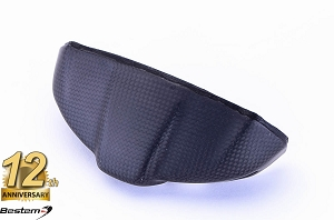 Ducati Monster 696 796 1100 100% Carbon Fiber Instrument Cover, Matte Finish