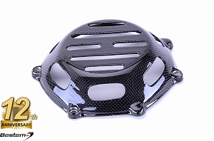 Ducati 100% Carbon Fiber Dry Clutch Cover, Open Style 1