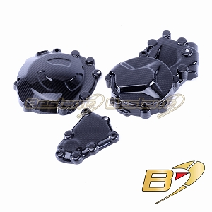 2009-2014 BMW S1000RR HP4 100% Carbon Fiber  Engine Cover Set- Let,Right and Clutch Cover