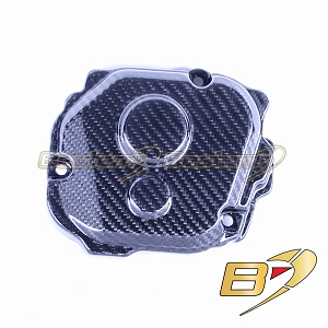2016-2019 Kawasaki ZX10R  100% Carbon Fiber Engine Timing Case Cover Twill Weave Pattern