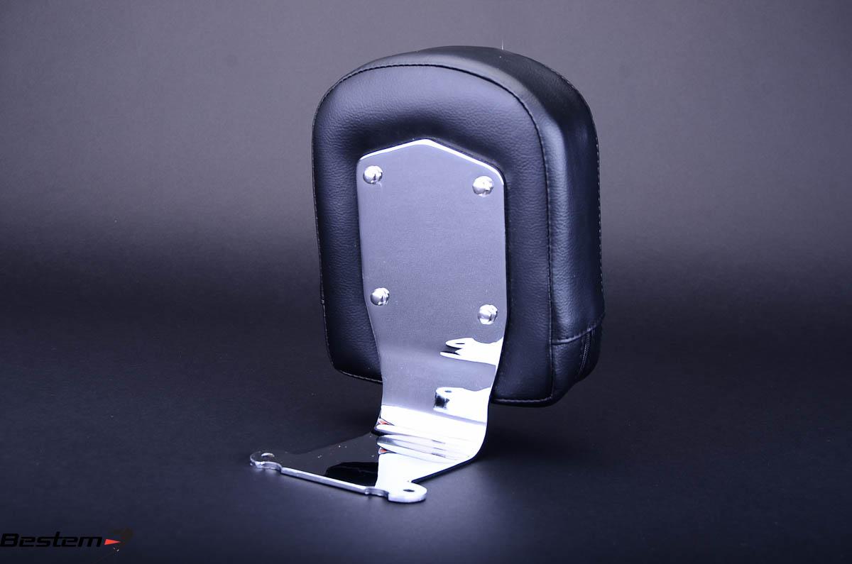 Bestem CHHO-VTXRS-DR Chrome Driver Backrest for Honda VTX1300//1800 R//S