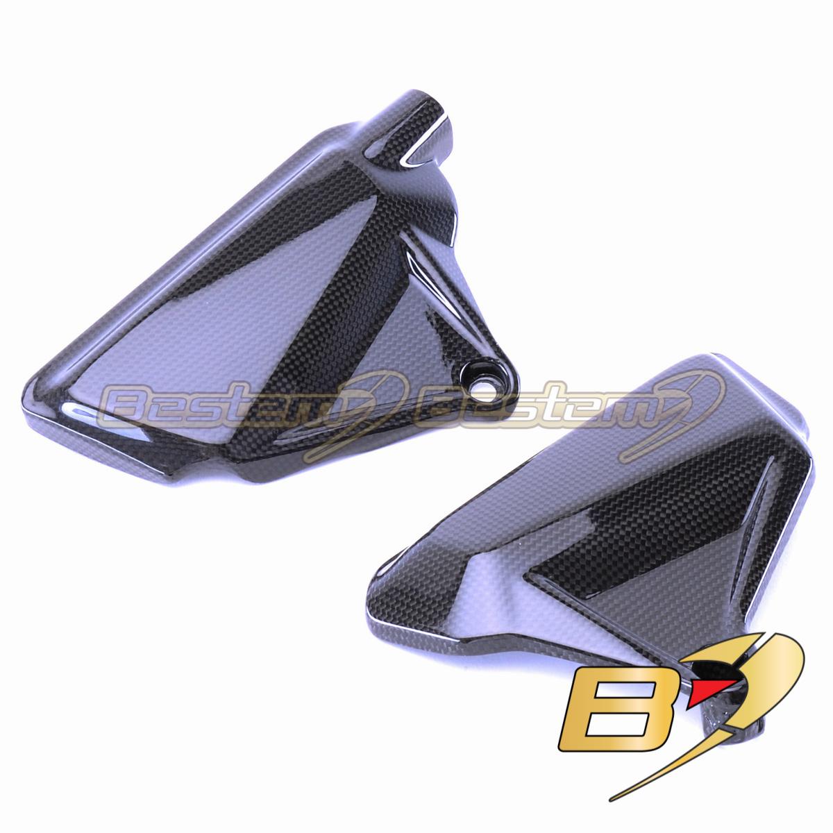 2016-2018 XDiavel S Left Rearset Foot Frame Panel Trim Cowl Fairing Carbon Fiber