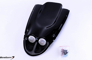 Suzuki GSXR 600(01-03)/750(00-03)/1000(01-02) Undertail,Black,2 Lights