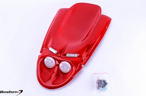 Suzuki GSXR 600(01-03)/750(00-03)/1000(01-02) Undertail,Red,4 Lights