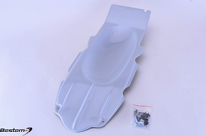 Suzuki SV650 99-02 Undertail White F27