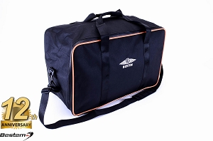 H-D Electra/Ultra Glide Tour-Pak Topliner Top Box Case Trunk Liner Bag, Black with Orange Piping