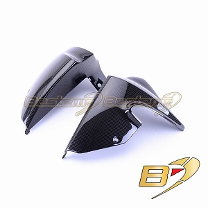 BMW K1200R  100% Carbon Fiber Radiator Spoiler Covers