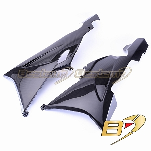 BMW K1200S/K1300S  100% Carbon Fiber Belly Pans