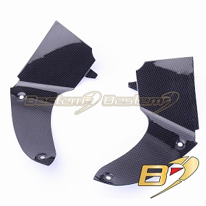 BMW K1200S  100% Carbon Fiber Dash Panel Cockpit Covers