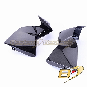 BMW K1300R  100% Carbon Fiber Radiator Side Covers