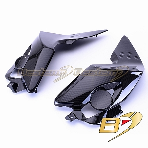 BMW K1300R  100% Carbon Fiber Lower Tank Side Covers