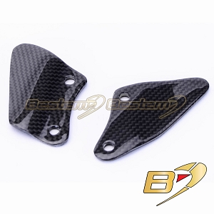 BMW R1100S 100% Carbon Fiber Heel Guard Plates