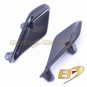 BMW R1200RS 2015+ Upper Side Nose Wing Panel Trim Cowl Fairing  100% Carbon Fiber
