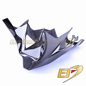 BMW S1000RR  2009 - 2014 Racing 100% Carbon Fiber Belly Pan, Twill Weave