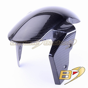 2015-2019 S1000RR Front Tire Fender Mud Guard Hugger Fairing Cowl Carbon Fiber Twill Weave