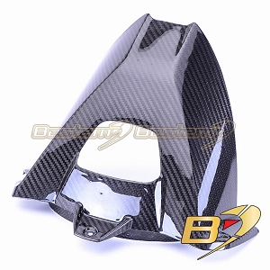 BMW S1000RR HP4 2009 - 2018 S1000R 2014 - 2018  100% Carbon Fiber Rear Hugger, Twill Weave