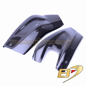 BMW S1000RR 2009 - 2018 100% Carbon Fiber Swingarm Cover, Twill Weave , Version 2