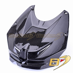 BMW S1000RR 2009 - 2011 100% Carbon Fiber Front Tank Cover, Twill Weave