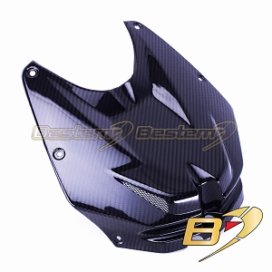 BMW S1000RR 2012 - 2014  100% Carbon Fiber Front Tank Cover, Twill