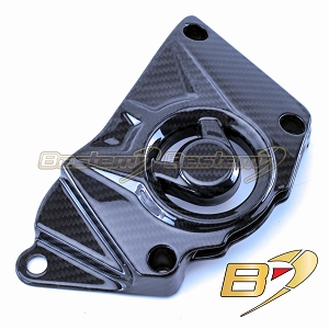 BMW S1000RR HP4 2015 - 2019 100% Carbon Fiber Sprocket Cover Fairing, Twill Weave