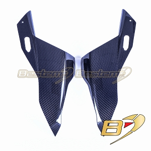 2020+ BMW S1000RR  Carbon Fiber Front Fairing, Twill Weave Pattern