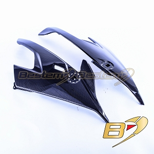 2020+ BMW S1000RR  Carbon Fiber Side Fairing Panels, Twill Weave Pattern