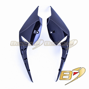 2020 BMW S1000RR  Carbon Fiber Seat Side Panels, Twill Weave Pattern