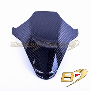 2020+ BMW S1000RR  Carbon Fiber Windscreen, Twill Weave Pattern