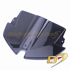 2015-2018 S1000XR Twill Carbon Fiber Head Cowl Beak Nose Tip Front Fairing