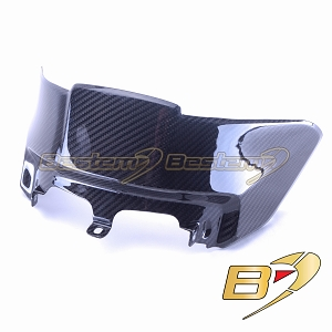 2015-2018 BMW S1000XR Carbon Fiber Gas Tank Pad Cover Fairing Guard Twill