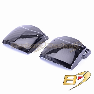 Can-Am Spyder RS 100% Carbon Fiber Fender Extensions, Twill Weave ,