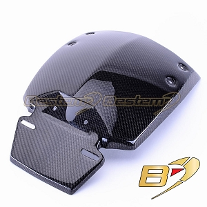 Can-Am Spyder RS 100% Carbon Fiber Hugger, Twill Weave ,