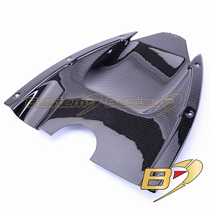 Can-Am Spyder RS 100% Carbon Fiber Undertail, Twill Weave