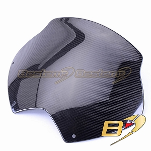 2008-2016 Can-Am Spyder RS 100% Carbon Fiber Windshield, Twill Weave ,