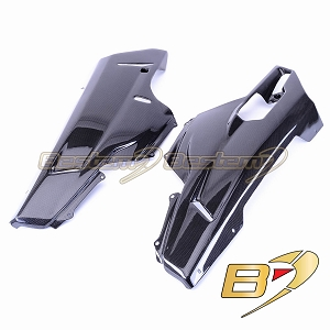 Ducati 848 1098 1198 100% Carbon Fiber Belly Pans